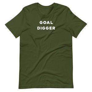 Olive Goal Digger T-Shirt
